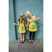 Simply Whimsical Cotton Lemon Child Apron