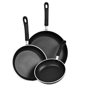 Cook N Home 3 Piece Non-Stick Frying Pan Set