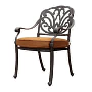GatherCraft Flagstaff Dining Arm Chair with Cushion (Set of 4)