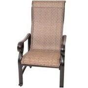 GatherCraft Santa Teresa Dining Arm Chair (Set of 4)