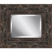 Ashton Wall D cor LLC Rectangle Guilded Framed Beveled Plate Glass Mirror; 23'' H x 27'' W x 3'' D