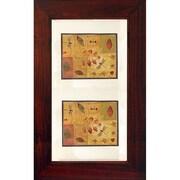 Concealed Cabinet 14'' x 24'' Recessed Picture Frame Medicine Cabinet; Espresso