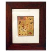 Concealed Cabinet 13'' x 16'' Recessed Picture Frame Medicine Cabinet; Espresso