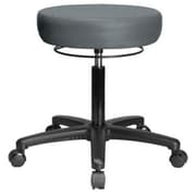 Perch Chairs & Stools Height Adjustable Medical Stool; Cinder Fabric