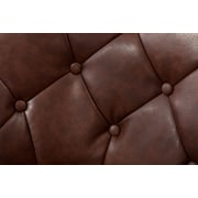 Roundhill Furniture Noas Contemporary Tufted Back Tilt Swivel Barrel Chair; Brown