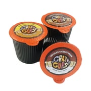 Crazy Cups Flavored Sampler Single Serve Coffee Cups for Keurig K Cups Brewer, 40 count