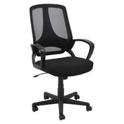 Oif Mid-Back Mesh Executive Office Chair with Fixed Loop Arms