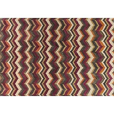 Bashian Rugs Ashland Lilac Area Rug; 7'6'' x 9'6''