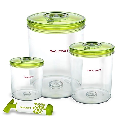 Vacucraft 7-Piece Vacuum Cylinder Set