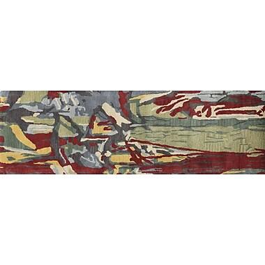 Bashian Rugs Ashland Multi-color Area Rug; Runner 2'6'' x 8'
