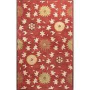 Bashian Rugs Essex Red Area Rug; 3'9'' x 5'9''