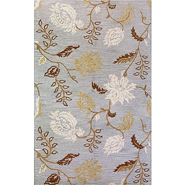 Bashian Rugs Seville Light Blue Area Rug; 7'9'' x 9'9''