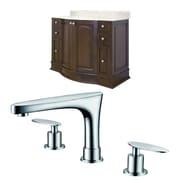 American Imaginations Villa 42'' Single Bathroom Vanity Set