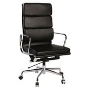 PoliVaz Replica Eames High-Back Leather Executive Chair with Arms