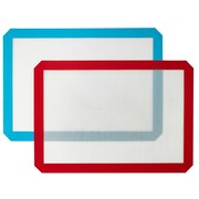 Kitch N' Wares Non-Stick Silicone Healthy Cooking/Baking Mat (Set of 2)