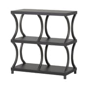Homestar Storage 32.94'' Accent Shelves; Espresso