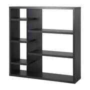 Homestar 43'' Accent Shelves Bookcase; Espresso
