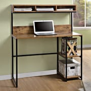 Homestar Computer Desk with Hutch