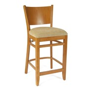 Benkel Seating Winston 24'' Bar Stool; Cherry