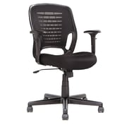Oif Mid-Back Mesh Executive Office Chair with T-Bar Arms