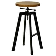New Pacific Direct Adjustable Height Swivel Bar Stool by