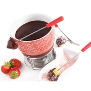 MASTRAD 7 Piece Rising Sun Chocolate Fondue Set