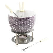 MASTRAD 7 Piece Stars Chocolate Fondue Set