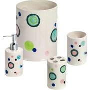 Popular Bath Products 5 Piece Bubble Gum Complete Bath Set