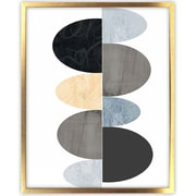 Picture it on Canvas 'Shapes Tex 3' by Brenda Meynell Graphic Art