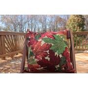 Tache Home Fashion Fall Foliage Throw Pillow Cushion Cover (Set of 2)