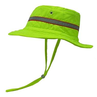 TechNiche HYPERKEWLMC — Chapeau de garde-forestier à refroidissement par évaporation d'eau, vert fluo, TTG/TTTG