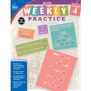 Math, Grade 4 Workbook (104884)