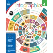 Infographics, Grade 4 Workbook (104896)
