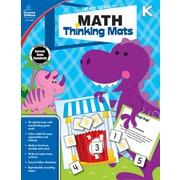 Math Thinking Mats, Grade K Resource Book (104898)