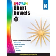 Short Vowels, Grade K Workbook (704972)