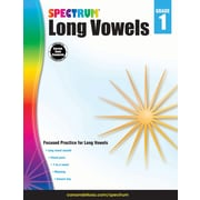 Long Vowels, Grade 1 Workbook (704973)