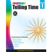 Telling Time, Grade 1 Workbook (704980)