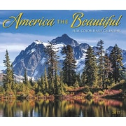 "Willow Creek Press 2017 America the Beautiful Box Calendar 5.25""H x 6.19""W (42879)"