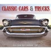 """Willow Creek Press 2017 Classic Cars & Trucks Box Calendar 5.25""""H x 6.19""""W (42497)"""