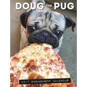 "Willow Creek Press 2017 Doug the Pug Engagement Calendar 6.5""H x 8.5""W  (43234)"