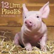 """Willow Creek Press 2017 12 Little Piggies Wall Calendar 12""""H x 12""""W (40011)"""