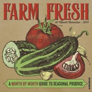 "Willow Creek Press 2017 Farm Fresh Wall Calendar 12""H x 12""W (42954)"