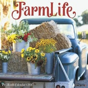 "Willow Creek Press 2017 FarmLife Wall Calendar 12""H x 12""W (43395)"