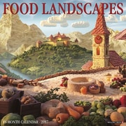 "Willow Creek Press 2017 Food Landscapes Wall Calendar 12""H x 12""W (40943)"