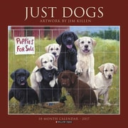 "Willow Creek Press 2017 Just Dogs (Jim Killen) Wall Calendar 12""H x 12""W (41285)"