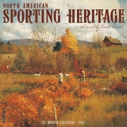 "Willow Creek Press 2017 North American Sporting Heritage Wall Calendar 12""H x 12""W (42749)"