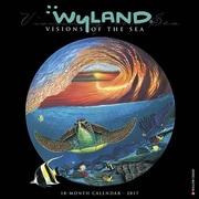 "Willow Creek Press 2017 Wyland Visions of the Sea Wall Calendar 12""H x 12""W (42398)"