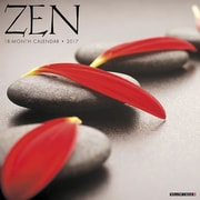 "Willow Creek Press 2017 Zen Wall Calendar 12""H x 12""W (43463)"