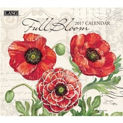 LANG Full Bloom 2017 Wall Calendar (17991001858)