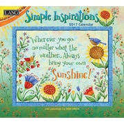 LANG Simple Inspirations 2017 Wall Calendar (17991001878)
